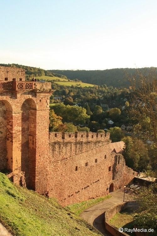 Burg Mauer Wertheim
