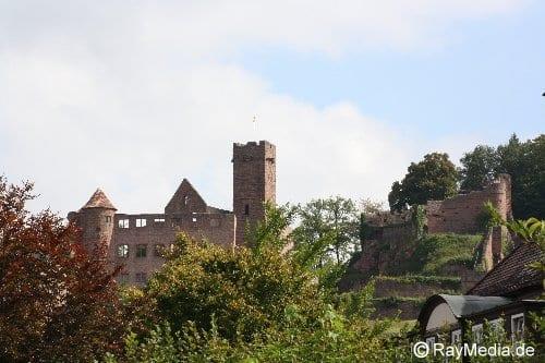 Burg Wertheim Ansicht