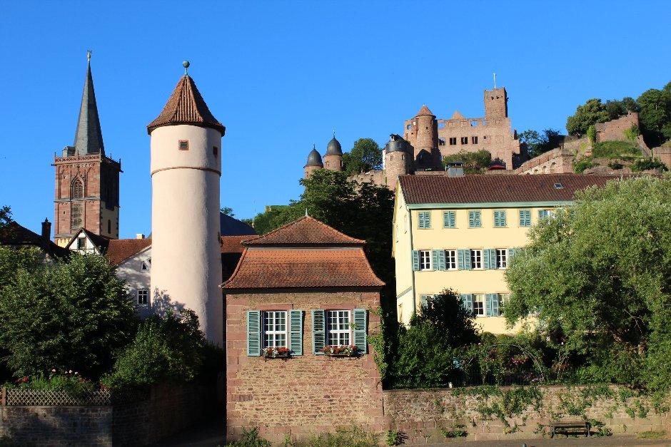 Burg Wertheim Stadtansicht RayMedia.de